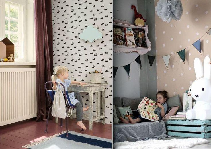 Детские обои в скандинавском стиле