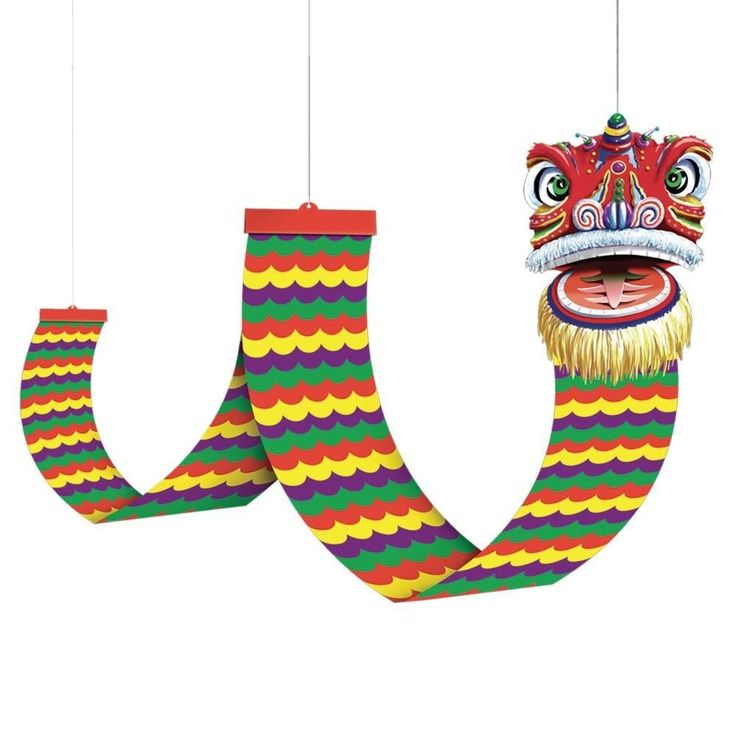 12' foot Asian DRAGON CEILING Party DECORATION Chinese New Year World Party