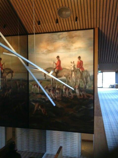 Large installation