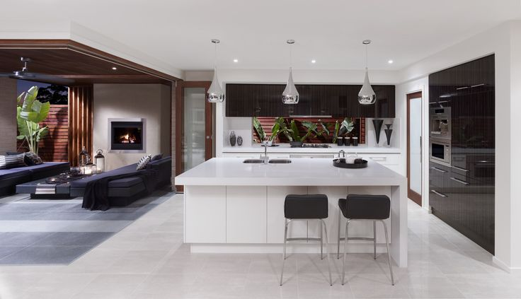 Timber bi-folding doors seamlessly integrate your indoor and outdoor living areas. #MonteCarlo36