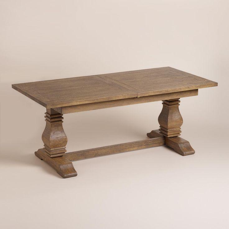 Wood Deighton Extension Dining Table World Market