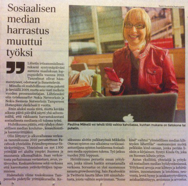 5.4.2011 Aamulehti