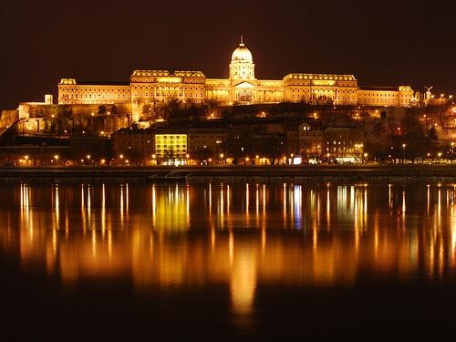 Budapest castle by cadermark, via Flickr