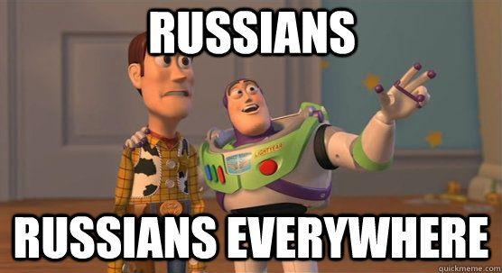 russians russians everywhere - russians russians everywhere  Toy Story Everywhere