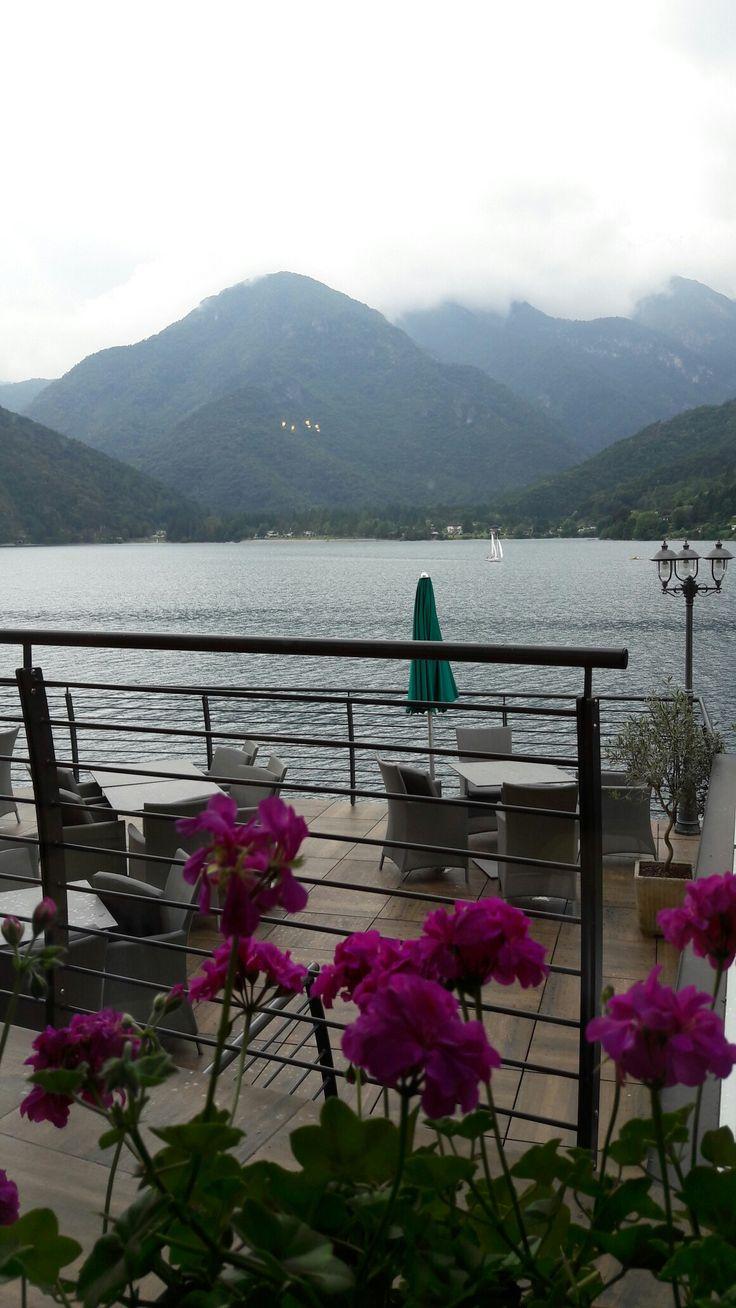 Lago di Ledro, Trento.