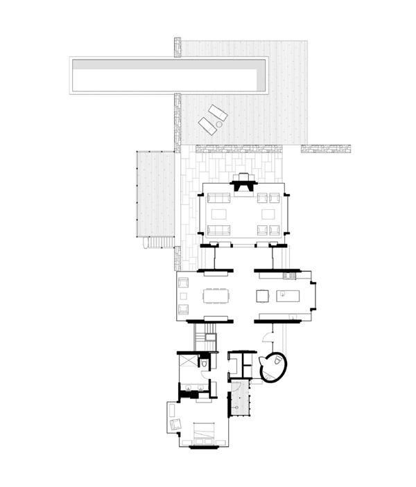 Profile mark hutker aia hutker architects custom home for Floor plan magazines