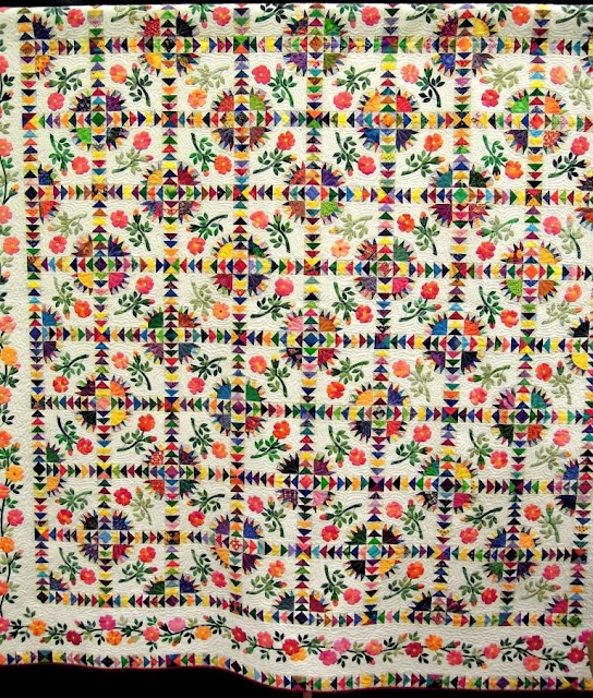 very detailed: 2012 Arizona, Beautiful Quilts, Quilts Inspiration, Rose Quilts, Lawrence 2012, 25Th Anniversaries, Arizona Quilter, Arizona Quilts, Appliques Passion