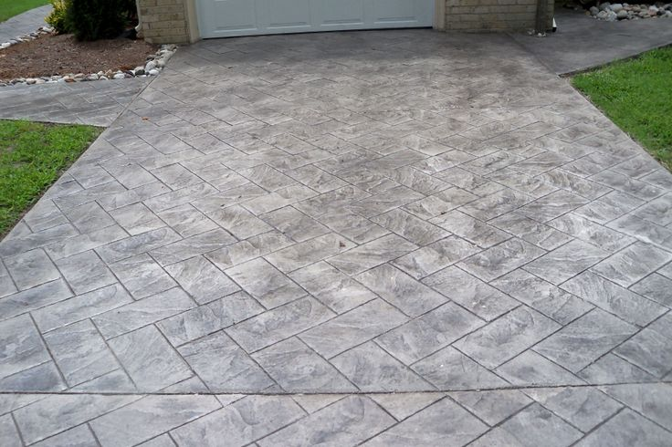 17 Best Ideas About Stamped Concrete Driveway On Pinterest Stamped Concrete Stamped Concrete