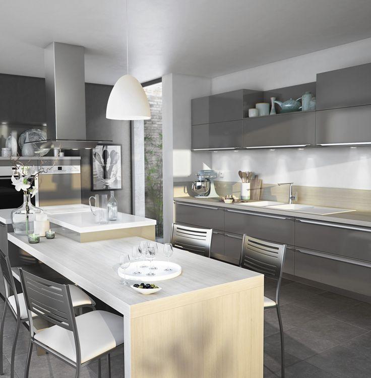 les 65 meilleures images du tableau la cuisine sur pinterest la cuisine cuisines et inox. Black Bedroom Furniture Sets. Home Design Ideas
