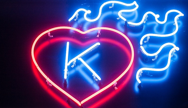 Project Neon, a collection of NYC's neon signage photos. Here, Kiehl's by catasterist, via Flickr