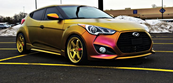 Hyundai Veloster Turbo Customer Shares