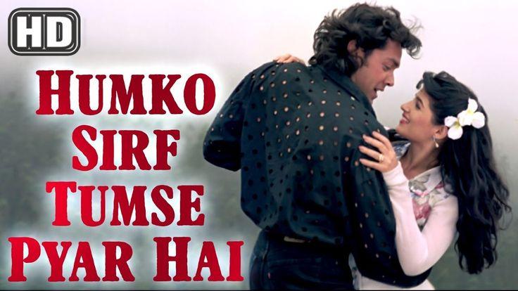 Humko Sirf Tumse Pyar Hai | Barsaat Songs 1995 | Bobby Deol | Twinkle Khanna | Kumar Sanu Hits - YouTube
