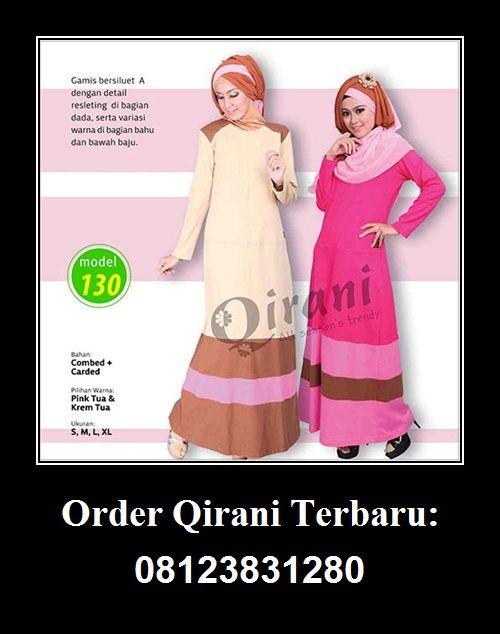 Qirani model 130 Hubungi : Whatsapp : +62 812-3831-280  SMS : +62 812-3831-280  BBM : 5F03DE1