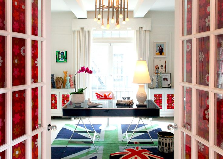 Amazing Take A Peek Into The Office At Jonathan Adler And Simon Doonanu0027s Home, NYC