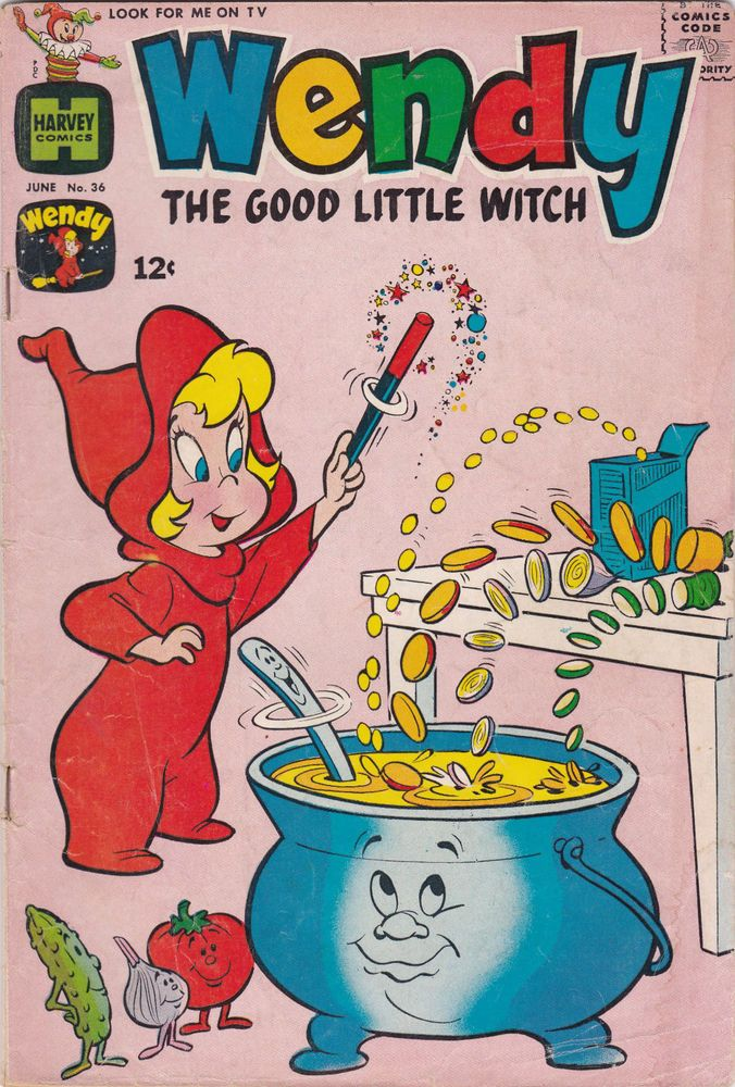 Wendy The Good Little Witch #36 FINE- SILVER AGE COMIC