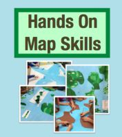 Hands On Map Skills: Cross Curricular Project to Teach Map Skills (Grades 2-4) $