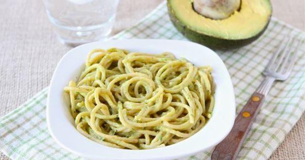 Creamy Avocado Pasta   Recipe   Creamy avocado pasta, Avocado pasta and Blender food processor