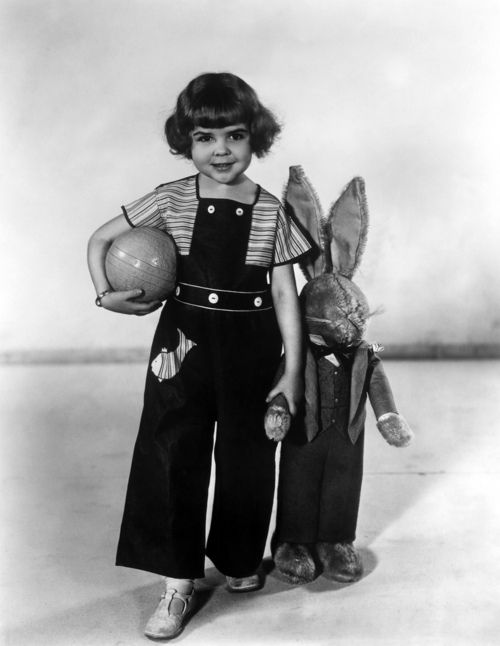 Darla Hood from the The Little Rascals