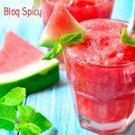 Drink Brisa Tropical com menta refrescante para você aproveitar mais o verão. Receita completa no #BlogSpicy  #spicylojas #cozinhaspicy #drinkwatermelon #watermelon #drinks #healthyandfresh #tudodebom