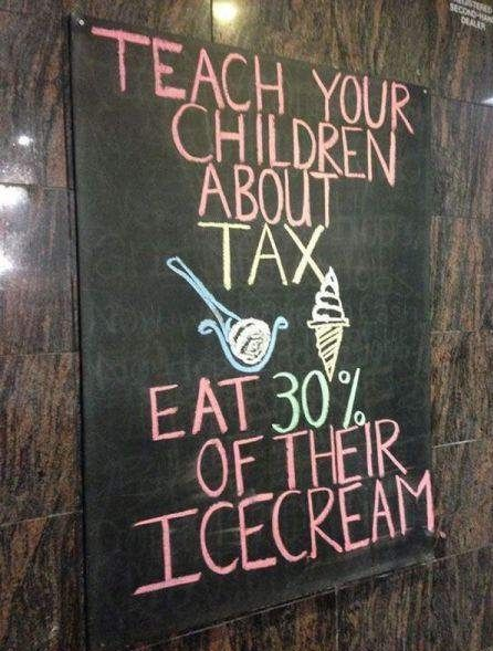 #Tax humor: Funny Pics, Funny Pictures, Life Lessons, Ice Cream, Funny Stuff, Teaching Kids, French Fried, Book Jackets, Icecream