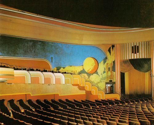387 best Art Deco Theatres images on Pinterest | Cinema architecture ...