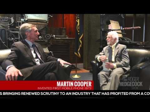 Martin Cooper, Inventor of The Cell Phone - YouTube