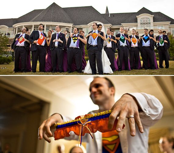 hidden superhero wedding, someone get married so i can dress up like a super hero under my clothes and be really excited!
