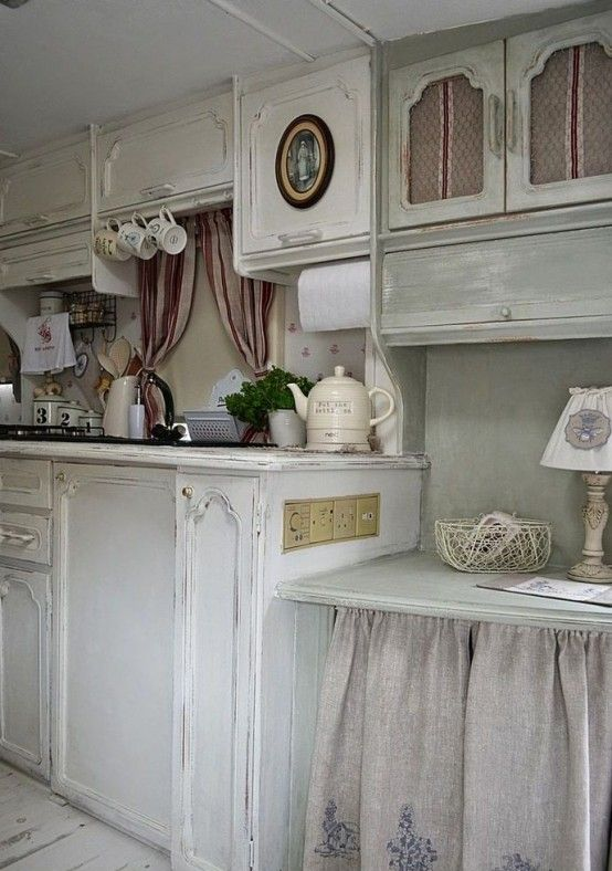 Charming Shabby Chic Kitchens That Youll Never Want To Leave