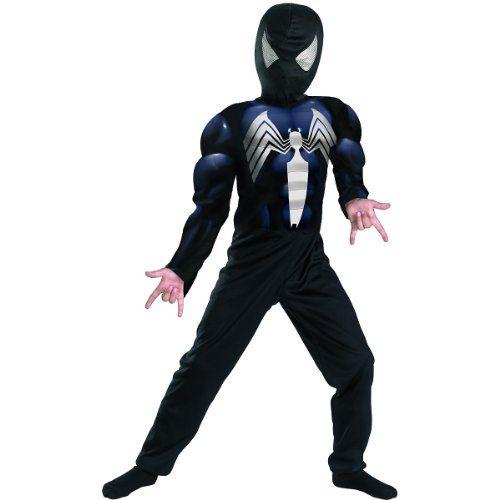 Black Spiderman Halloween Costumes  #halloween #spiderman #costumes