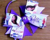 Elastico per capelli con fiocco doppio Violetta : Accessori per capelli di latipadeltappo