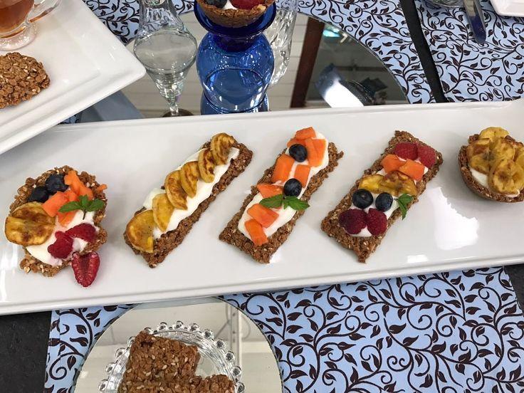 Cestinha de Granola | Doces e sobremesas | Mais Você - Receitas Gshow