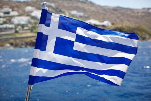 Greece flag is beautiful.