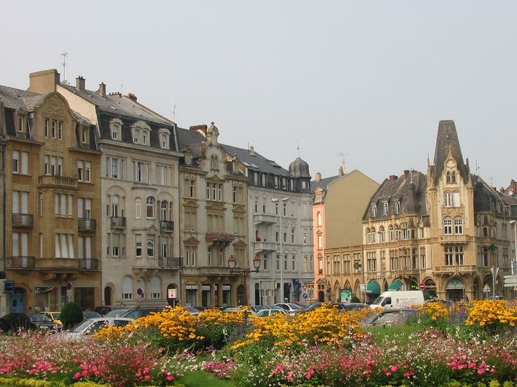 Thionville, France-town close to where i did a home stay in France