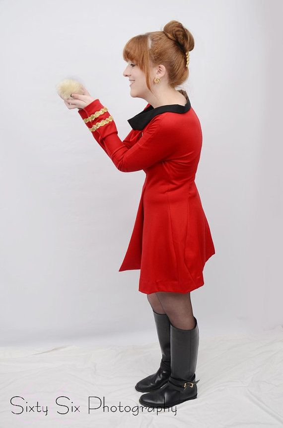 Star Trek Original Series Skant Dress Science by correenscdesigns