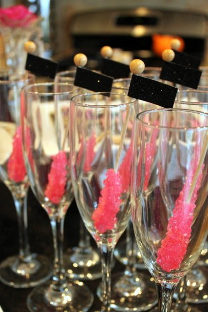 """Photo 1 of 21: Engagement/Bachelorette/Ladies Night / Bachelorette """"Mini Bachelorette Dessert Table""""   Catch My Party"""