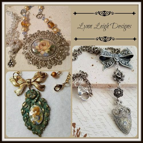 "Available in the ""Yesterday's Treasures"" collection at Lynn Leigh Designs."