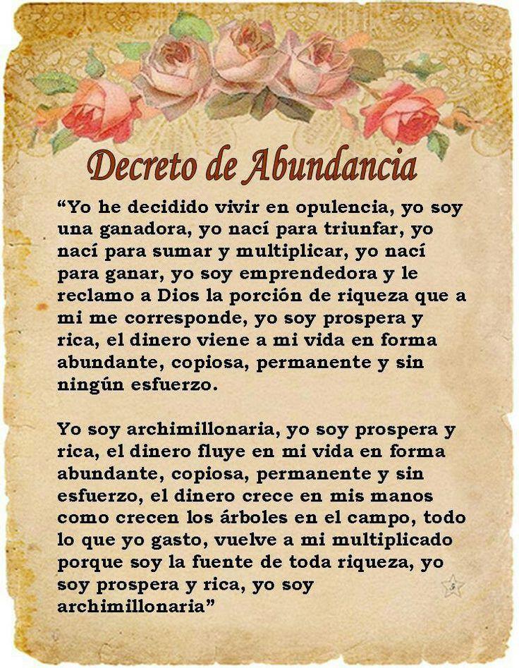 Decreto de abundancia