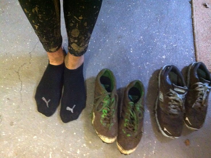 Mid Cheshires. Sooo muddy, I even got mud on my face.