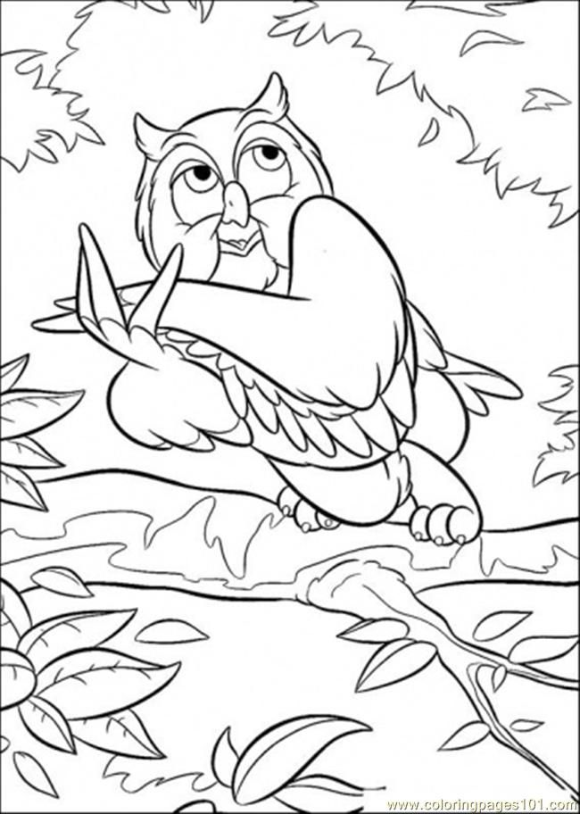 The 111 best Coloring - Bambi images on Pinterest | Adult coloring ...