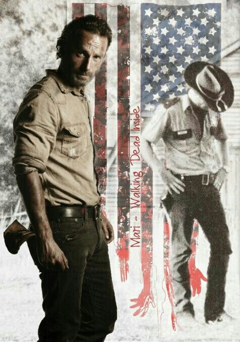 The Walking Dead Rick Grimes Twd Pinterest Dessin