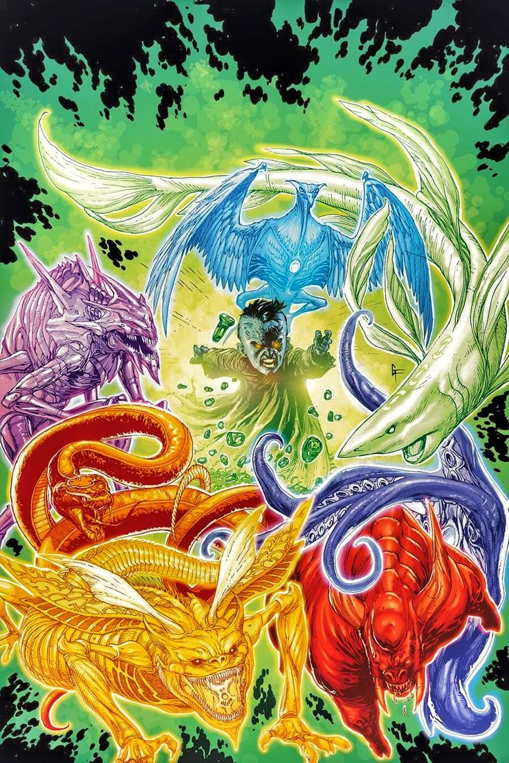 Entities of Lantern Corps