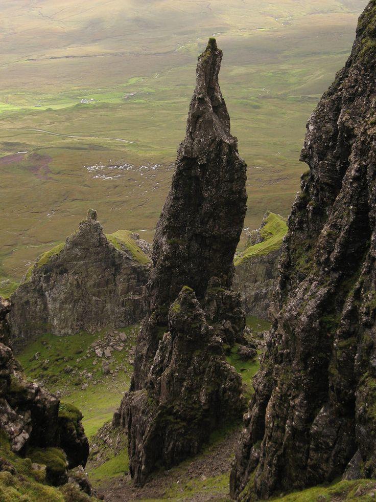 Quiraing, Isle of Skye, Scotland by Paul Kirkwood                                                                                                                                                                                 More