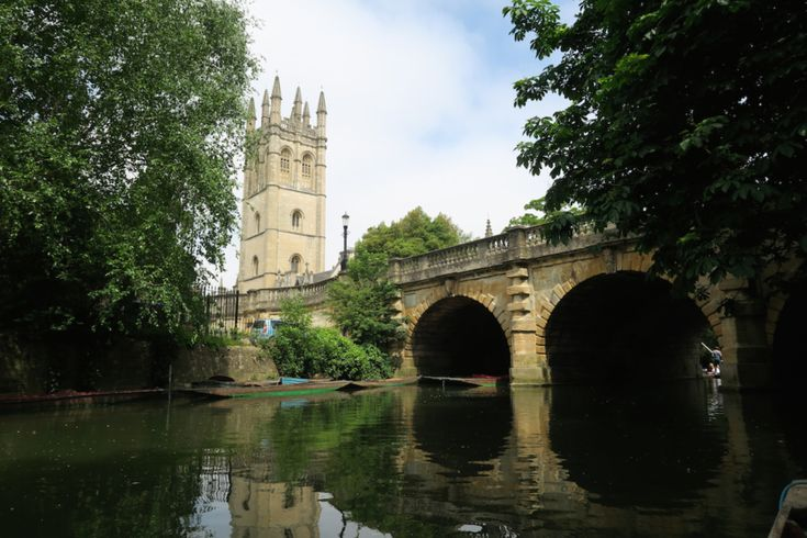 A perfect British summer's day in Oxford