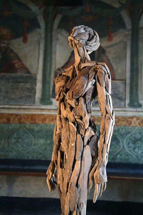 Nagato Iwasaki driftwood torso