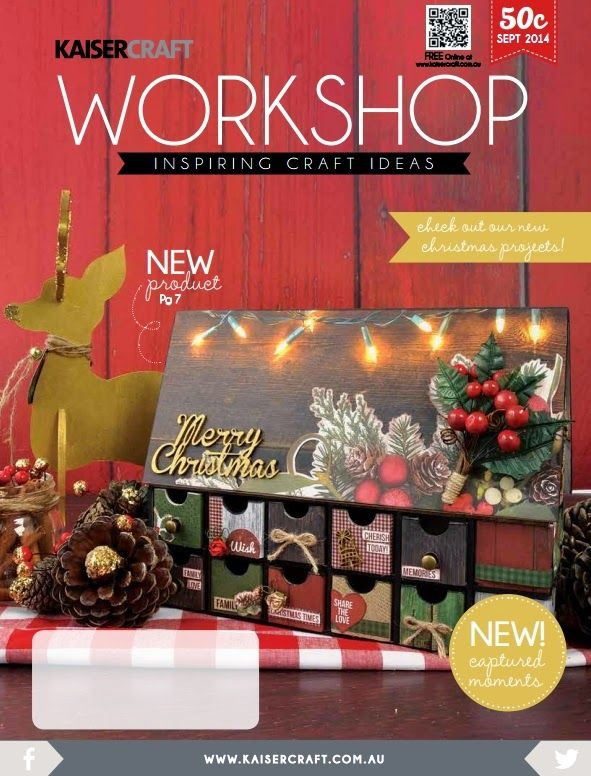Workshop magazine september Kaisercraft