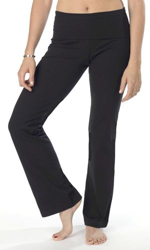 cb46618a24 The Girls brand, Faith's Foldover Yoga Pant. My sister in law lent ...