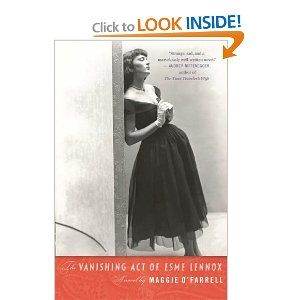 The Vanishing Act of Esme Lennox: Maggie O'Farrell: 9780156033671: Amazon.com: Books