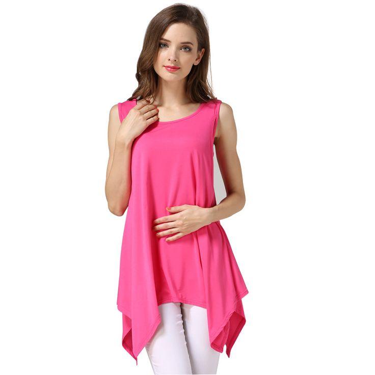 MamaLove Modal pregnancy breastfeeding Maternity Clothes Maternity Tank Tops& Camis nursing tank top for Pregnant Women Vest trapeze