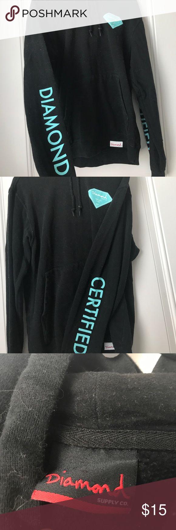 Diamond Supply Co Women's Hoodie Wore a couple times Diamond Supply Co. Tops Sweatshirts & Hoodies