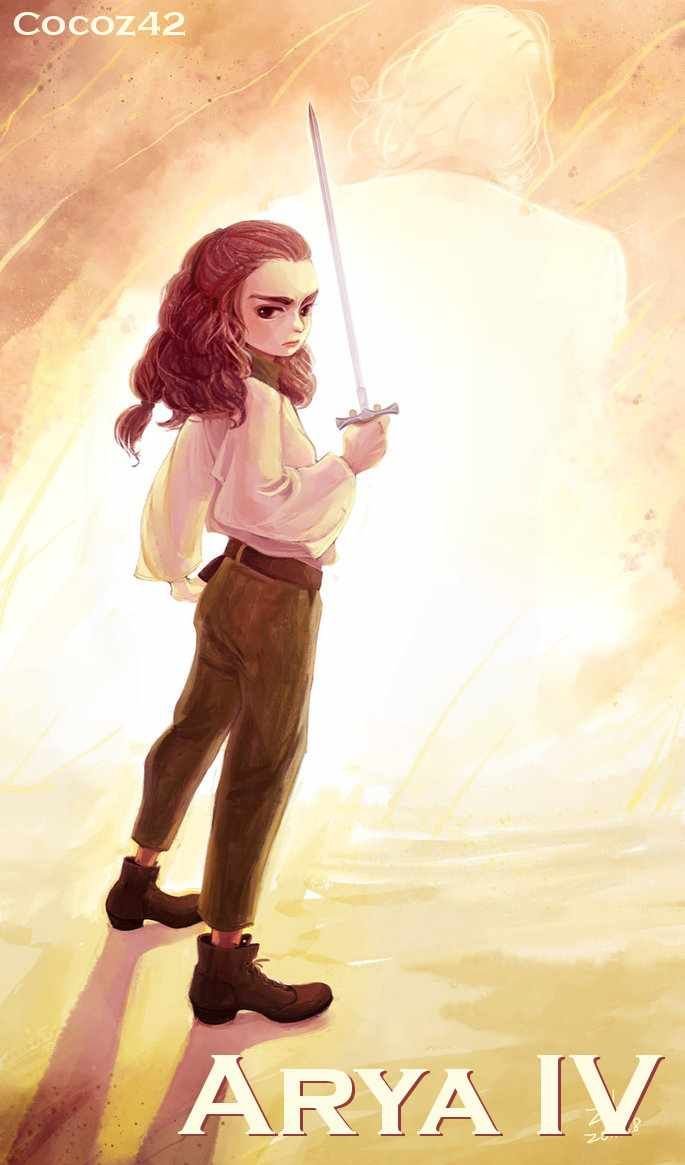 AGOT Arya IV banner - art by Cocoz42
